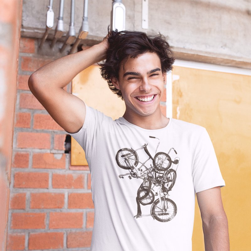 Bike Chaos | On Sale!   ➔ by The Mindful Tee