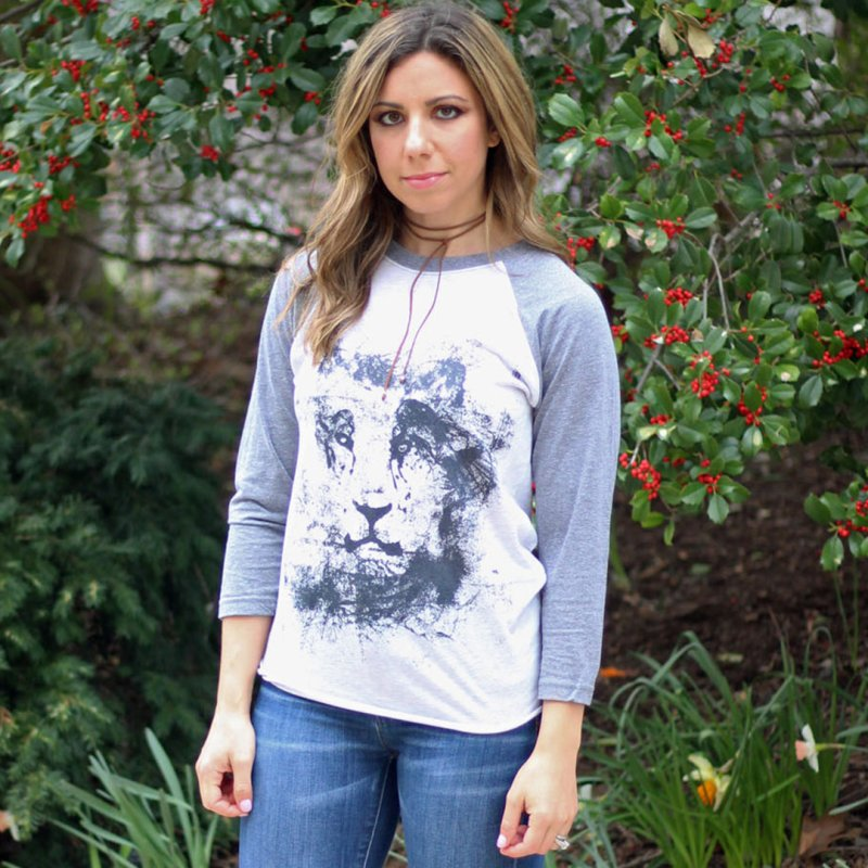 Ink Lion | On Sale!  ➔ by The Mindful Tee