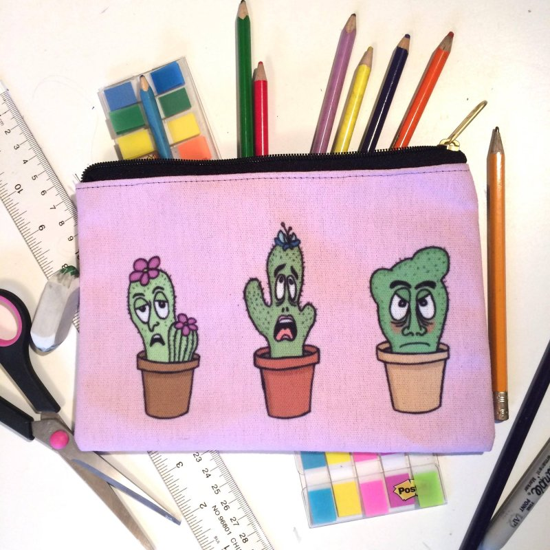 Cranky Cacti by mirkaillustrates's Artist Shop