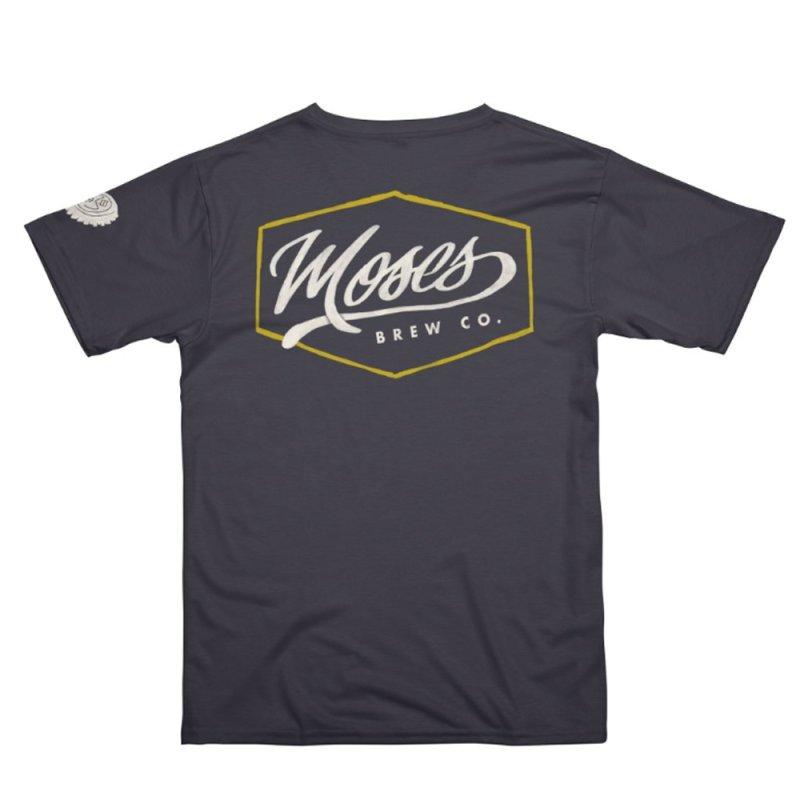 Brewery Script in Men's T-Shirt Cut & Sew by Gargoyle Gear