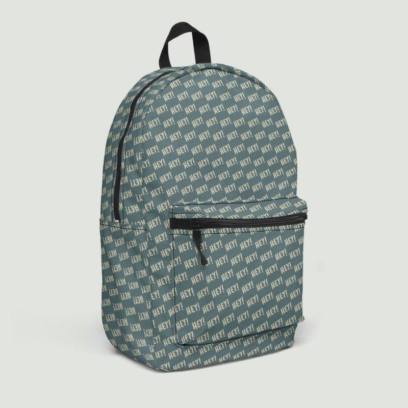 Hey! Motif Pattern in Backpack by Mr Loco Motif - Artist Shop