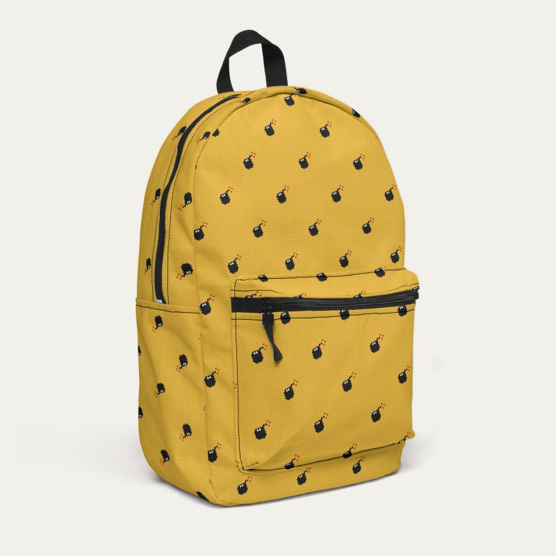 Bomb Motif Pattern in Backpack by Mr Loco Motif - Artist Shop