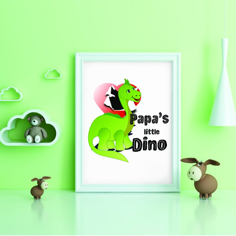 Little Dino by MyInspirationalGifts Artist Shop