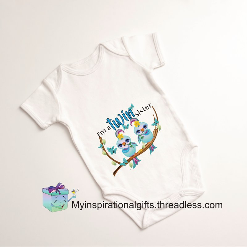I'm a TWIN sister by MyInspirationalGifts Artist Shop