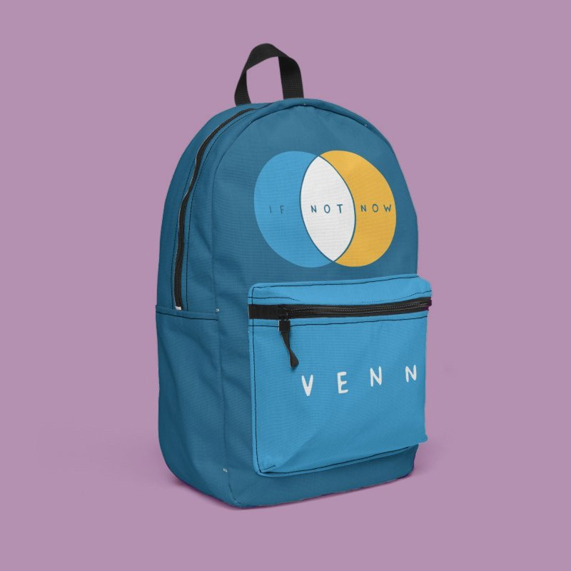 If Not Now Venn in Backpack by Nathan W Pyle