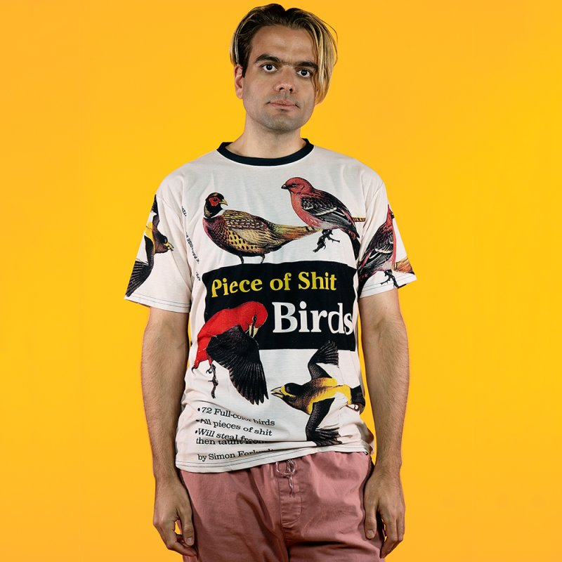 Piece of Shirt Birds in Men's T-Shirt Cut & Sew by Paperback Paradise
