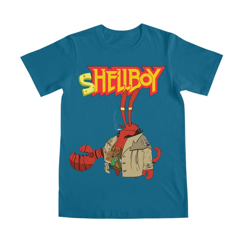 Shellboy in Men's Heavyweight T-Shirt Purple by peregraphs's Artist Shop