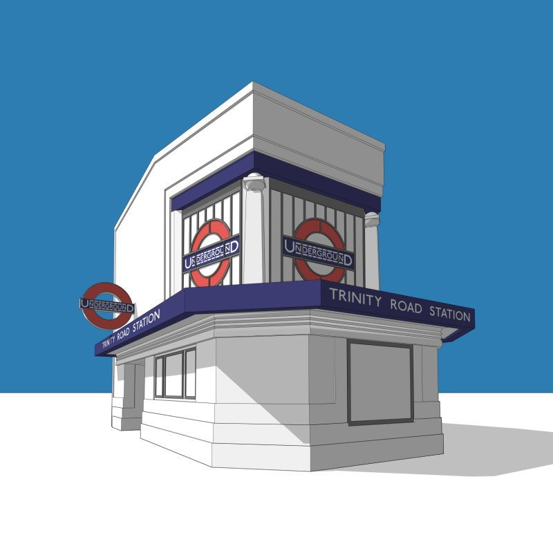 Trinity Road (Tooting Bec) by Pig's Ear Gear on Threadless
