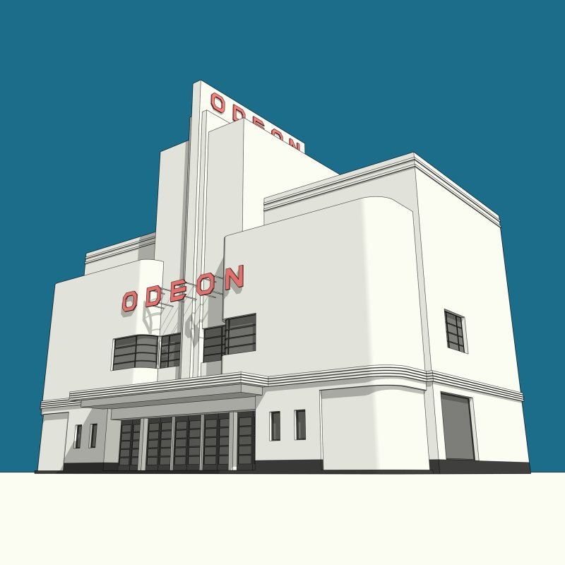 ODEON Balham by Pig's Ear Gear on Threadless