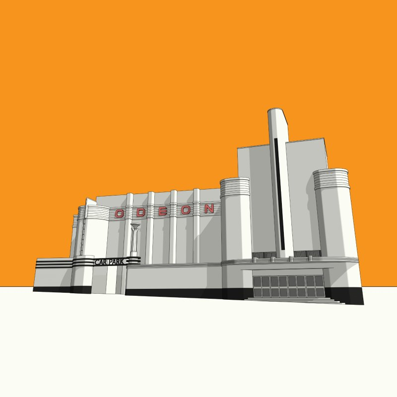 ODEON Woolwich by Pig's Ear Gear on Threadless