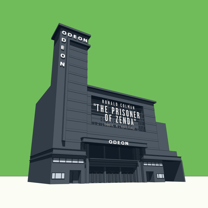 ODEON Leicester Square by Pig's Ear Gear on Threadless
