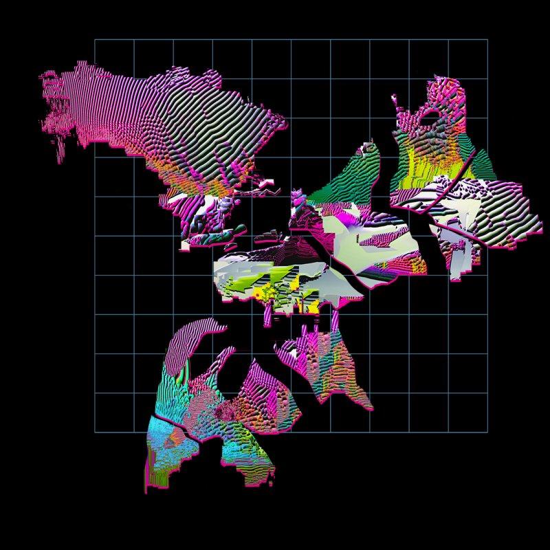 Island Grid no.1 by PIXLPA Artist Shop