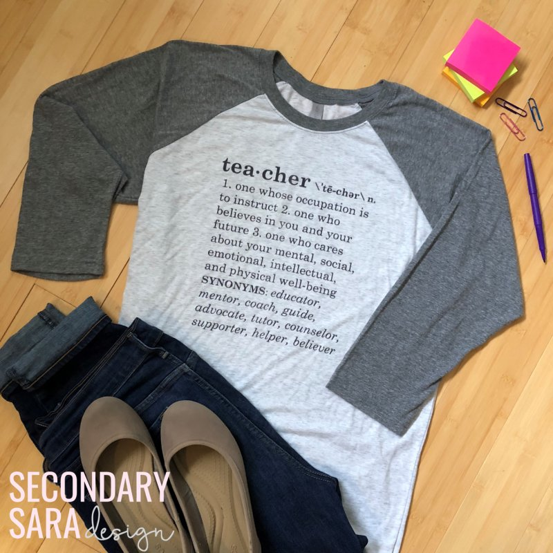 Shop The Definition Of A Teacher Collection