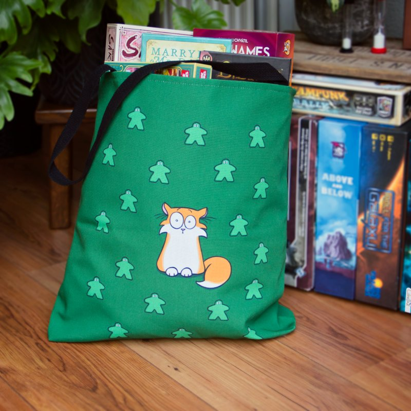 Apollo and the Meeples in Tote Bag by Semi Co-op