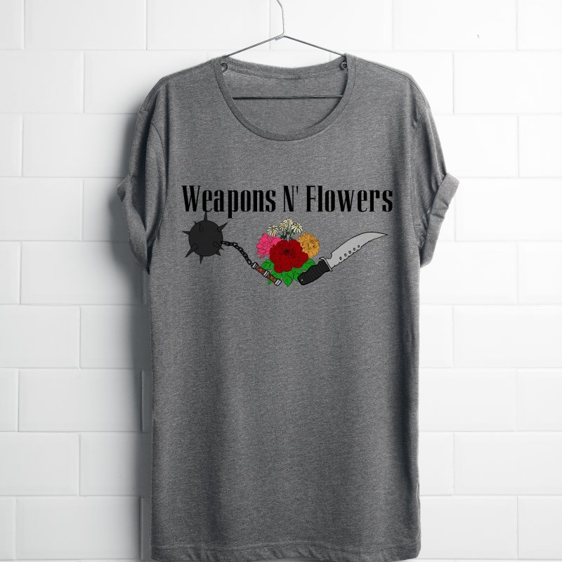 Weapons N' Flowers by Hello Siyi