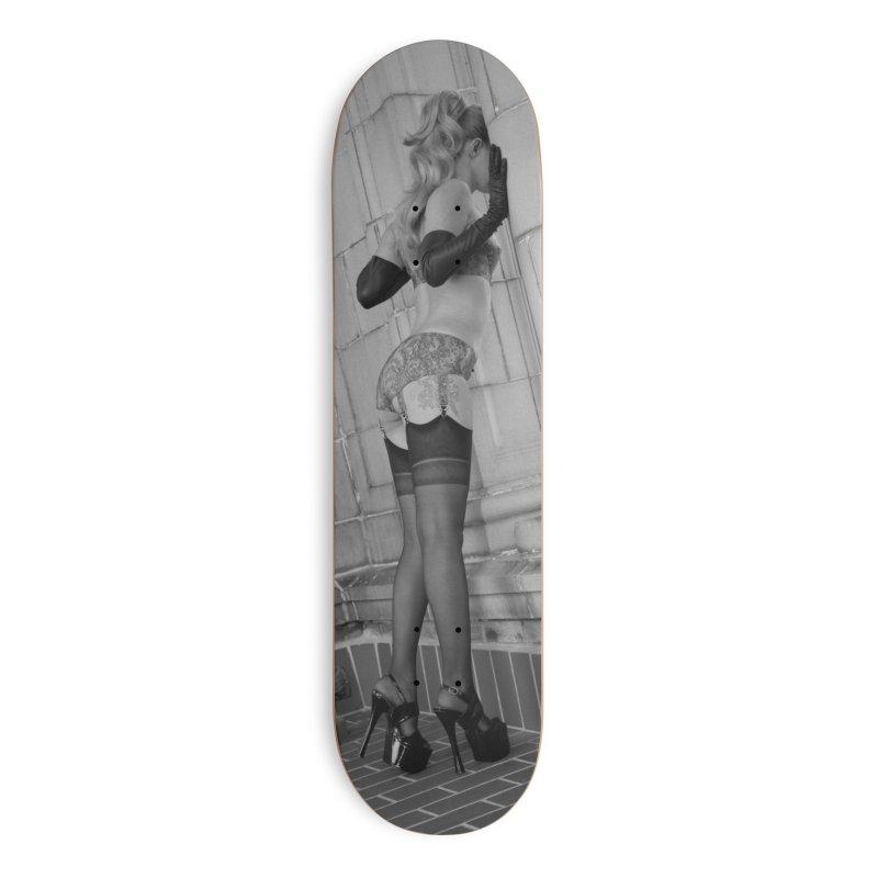 HMW Skateboard in Deck Only Skateboard by Steve Diet Goedde's Artist Shop