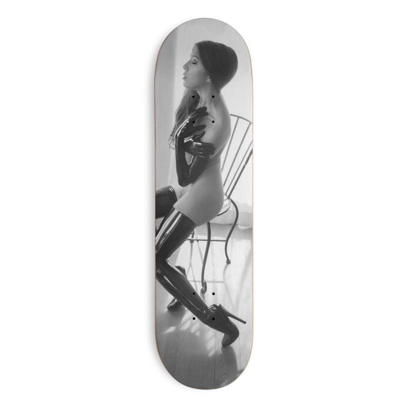 Idiivil Skateboard in Deck Only Skateboard by Steve Diet Goedde's Artist Shop
