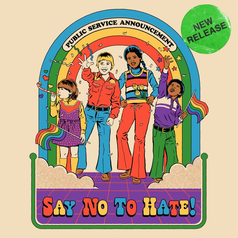 Say No To Hate by Steven Rhodes