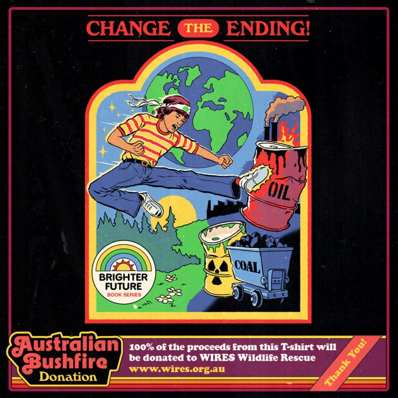 Change the Ending! (Aust. Bushfire Donation) by Steven Rhodes