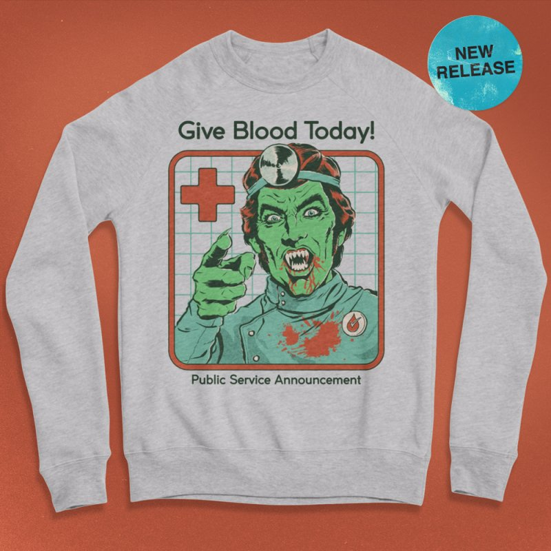 Give Blood today! by Steven Rhodes