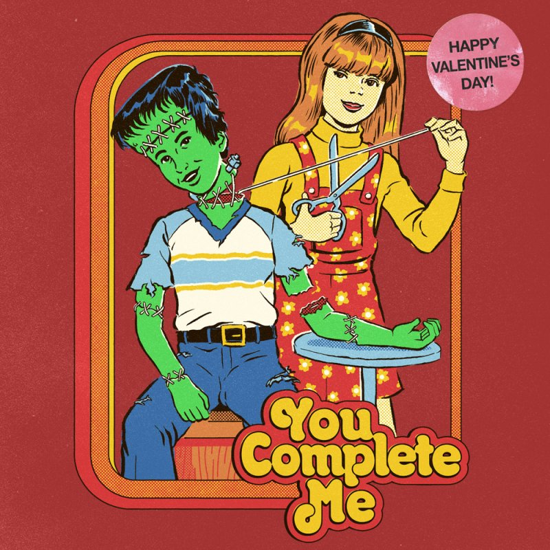 You Complete Me by Steven Rhodes