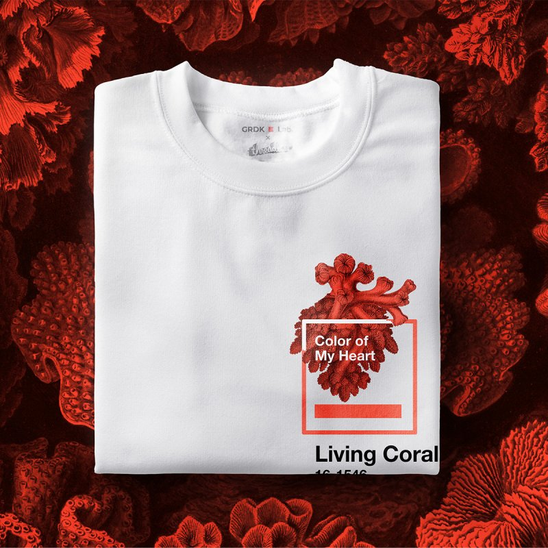 Coral Of My Heart by ゴロキ | GORODKEY | GRDK Clothing