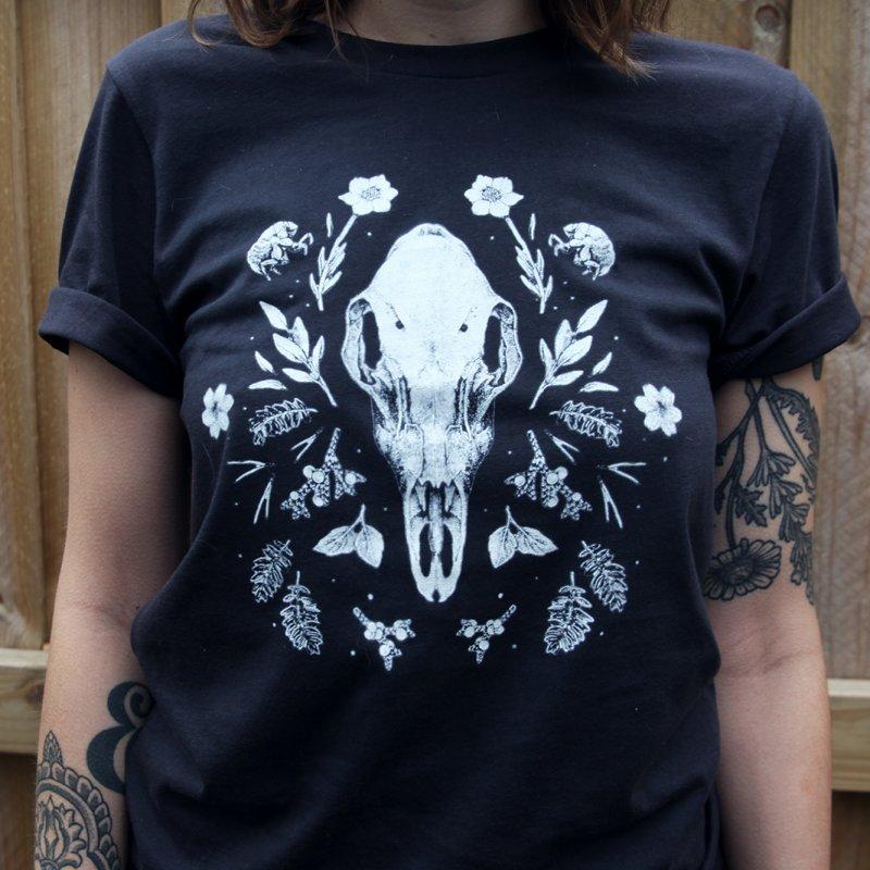 End of August in Women's Regular Unisex T-Shirt Smoke by Tenderheart Studio