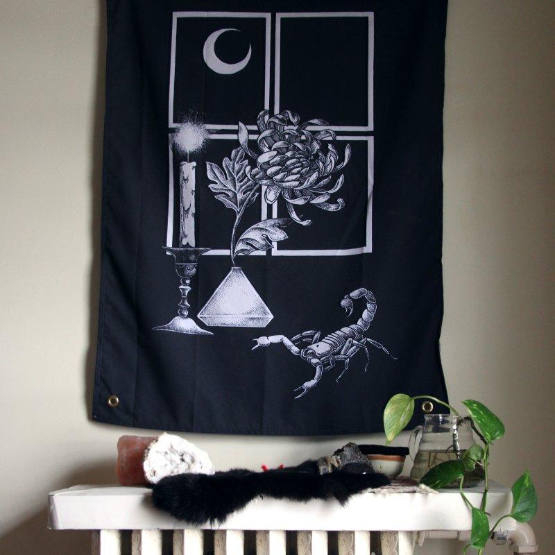 Scorpio Season in Tapestry by Tenderheart Studio