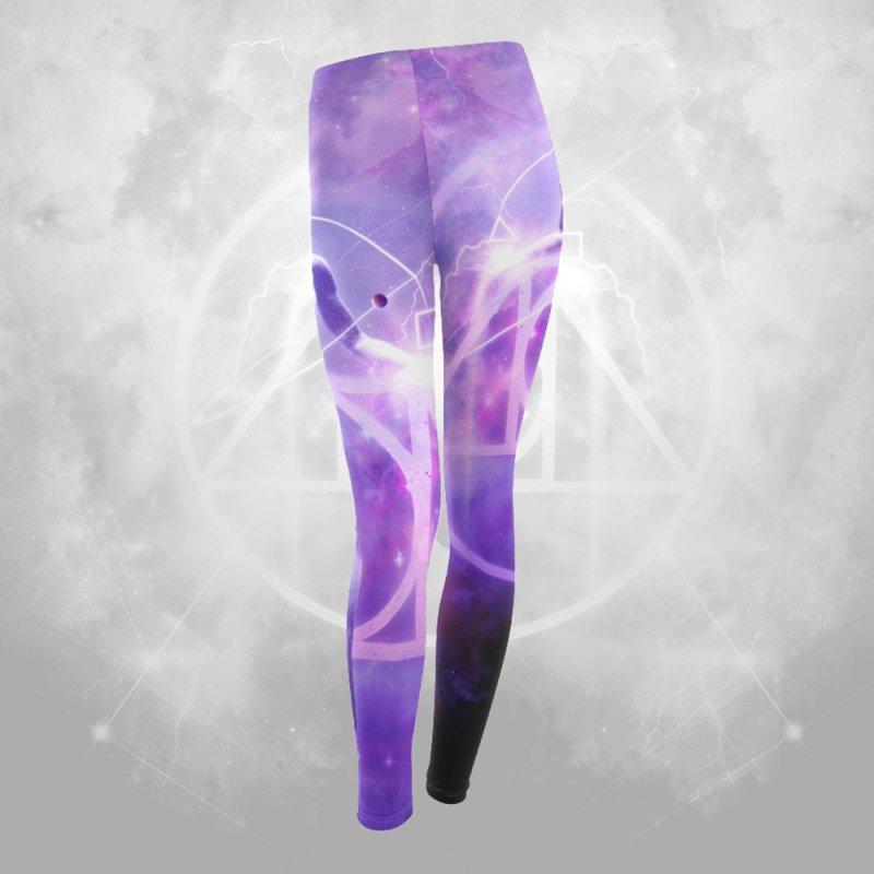Spiritual Alchemy Leggings in Women's Leggings Bottoms by TruthSeekah Clothing