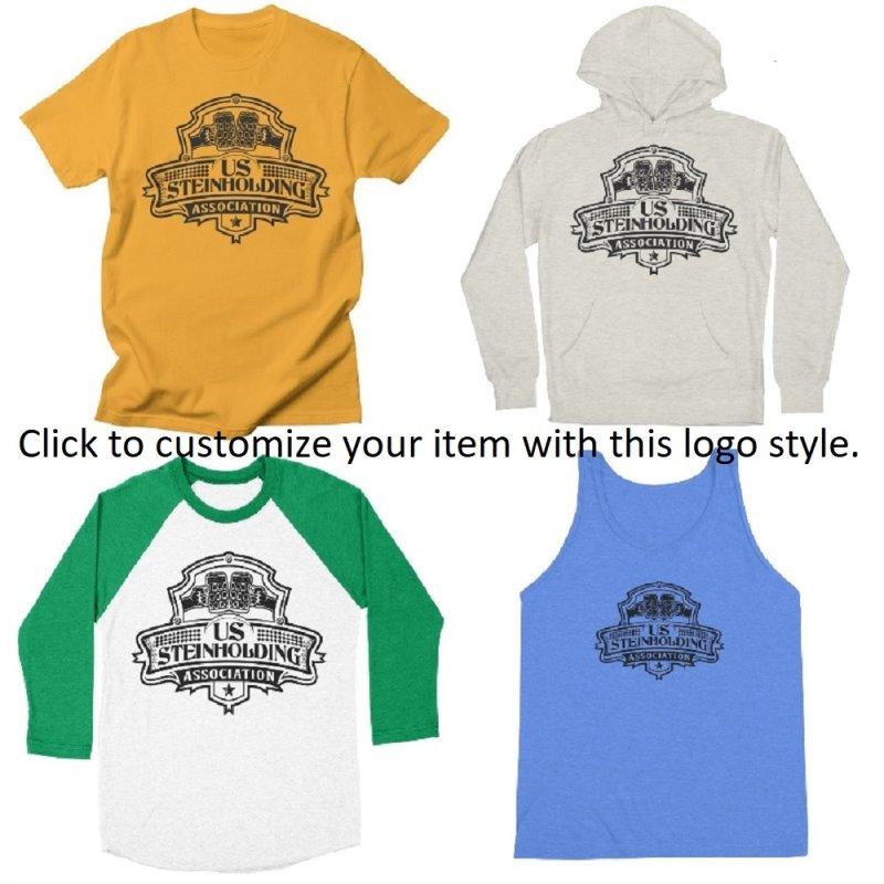 U.S. Steinholding Dark Negative Logo by U.S. Steinholding's Artist Shop