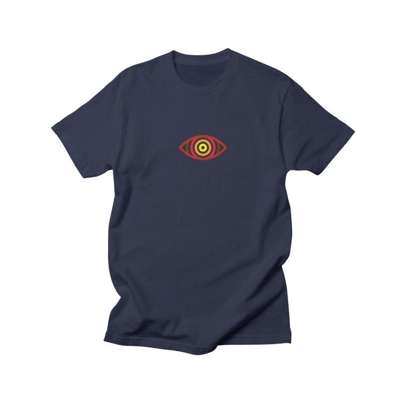 Vizual Classic Logo in Men's Extra Soft T-Shirt Asphalt by Vizual Artist Shop