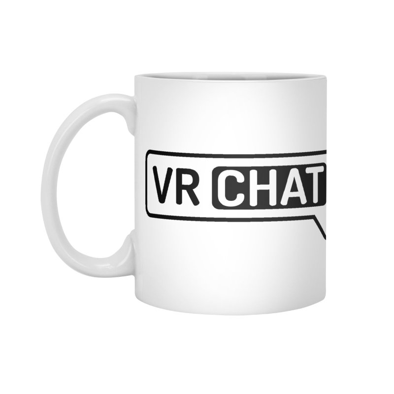 Coffee Mug in Standard Mug White by VRChat Merchandise