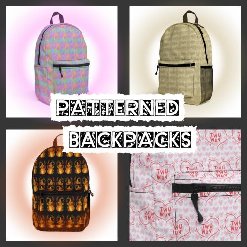 Patterned-Backpacks