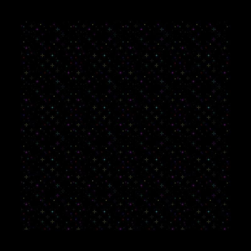 neon starfield (pixels) Men's Shoes by A. B.(ee) Shop