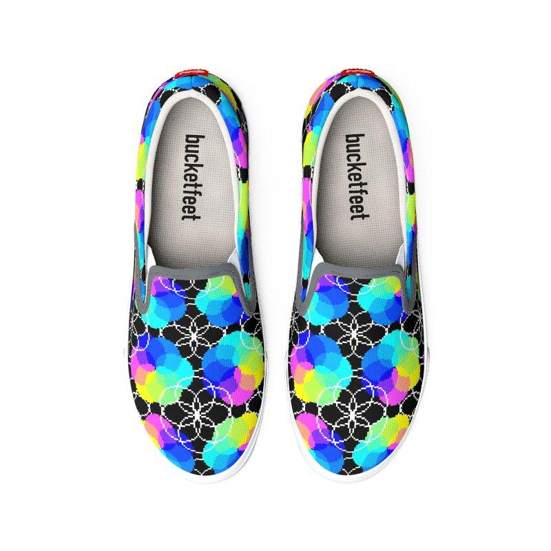 color wheels inverted (pixels) Women's Shoes by A. B.(ee) Shop