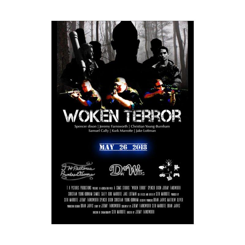 WOKEN TERROR Poster by AComicStudios's Artist Shop