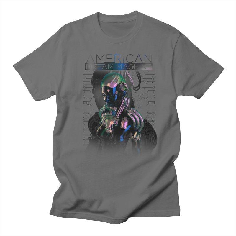 Dream Machine (Blu&Slvr) Men's T-Shirt by American Dream Machine's Merch Booth