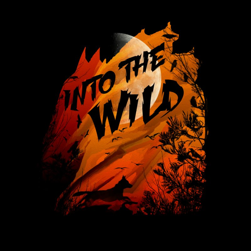 Into The Wild None  by AGIMATNIINGKONG's Artist Shop