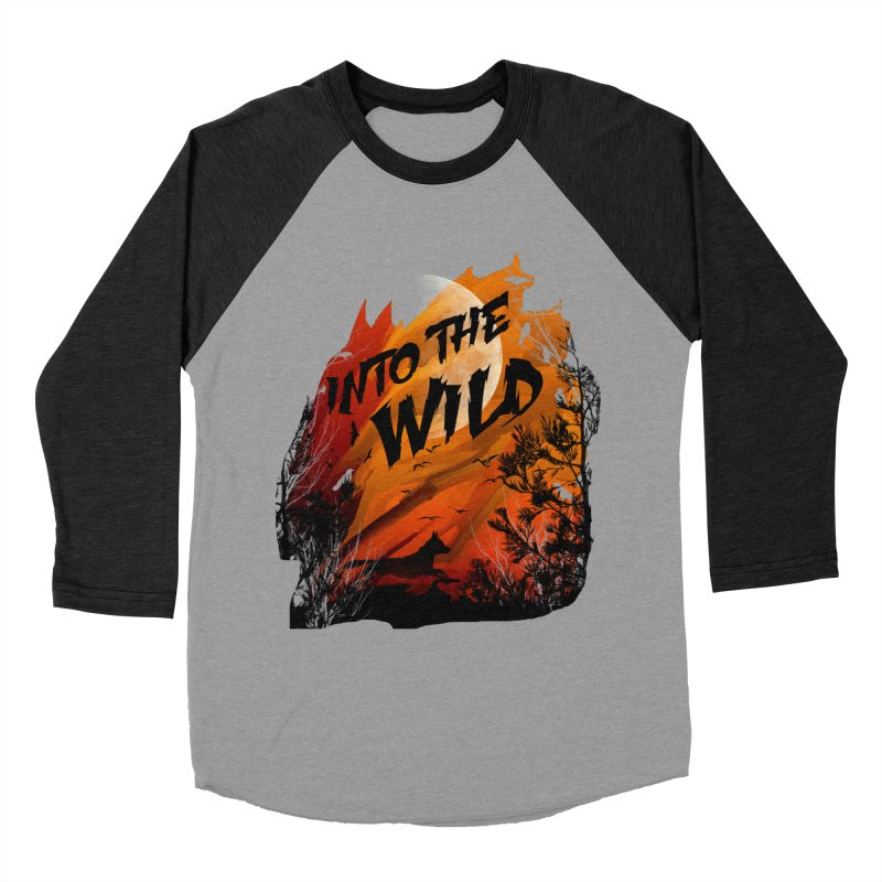 Into The Wild Men's Longsleeve T-Shirt by AGIMATNIINGKONG's Artist Shop