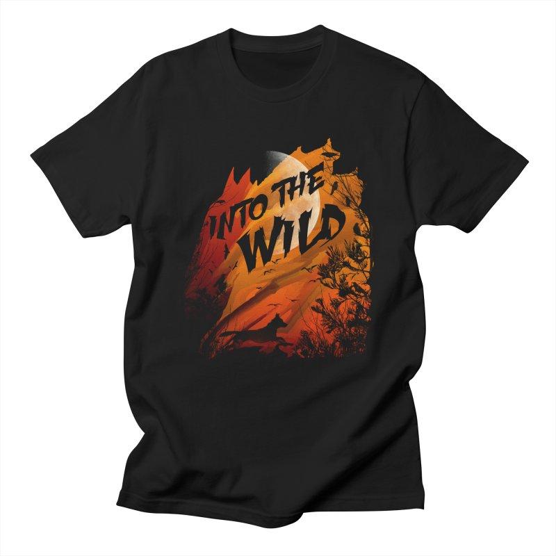 Into The Wild Men's T-shirt by AGIMATNIINGKONG's Artist Shop