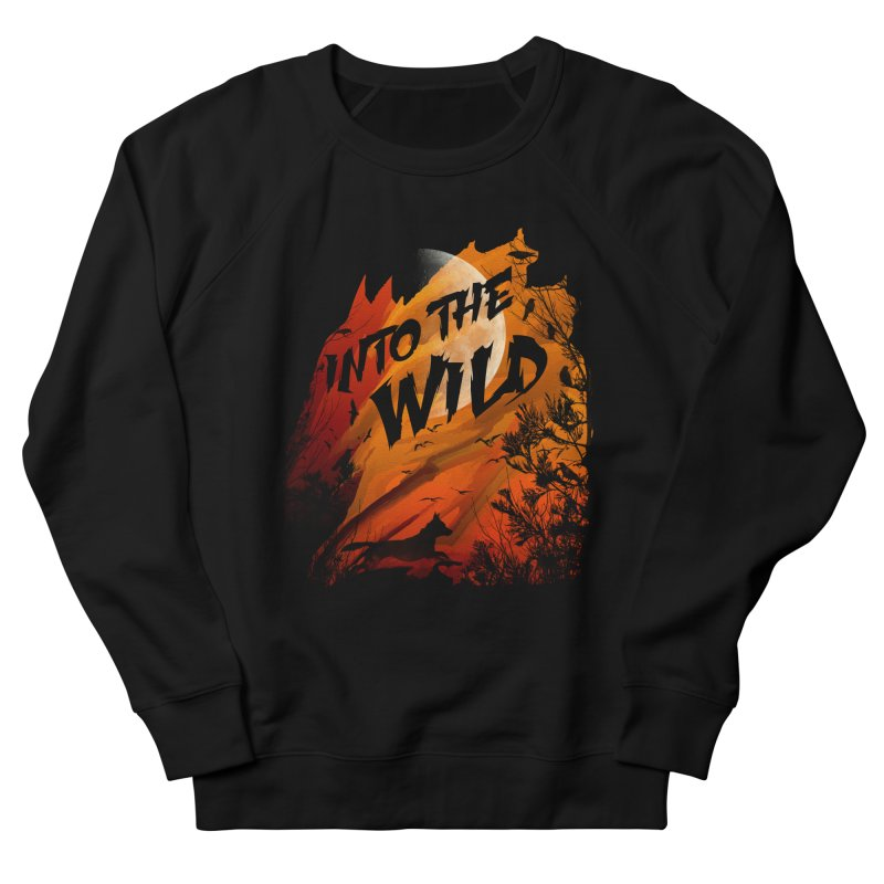 Into The Wild Women's French Terry Sweatshirt by AGIMATNIINGKONG's Artist Shop