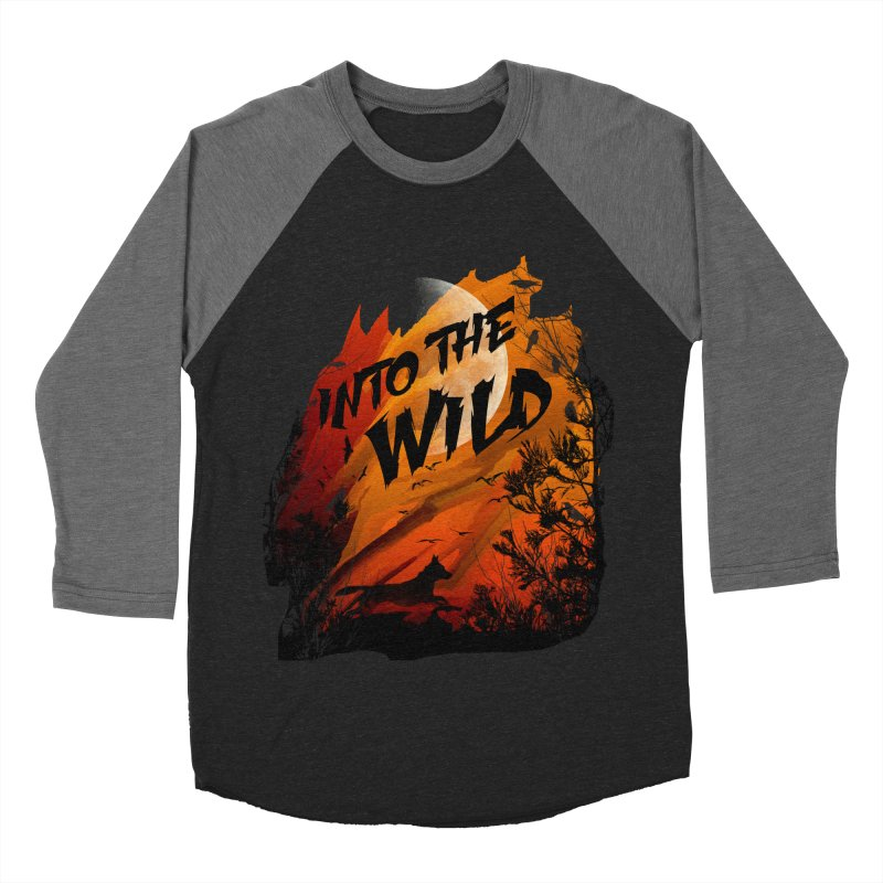 Into The Wild Women's Baseball Triblend Longsleeve T-Shirt by AGIMATNIINGKONG's Artist Shop