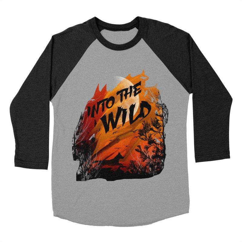 Into The Wild Men's Baseball Triblend Longsleeve T-Shirt by AGIMATNIINGKONG's Artist Shop
