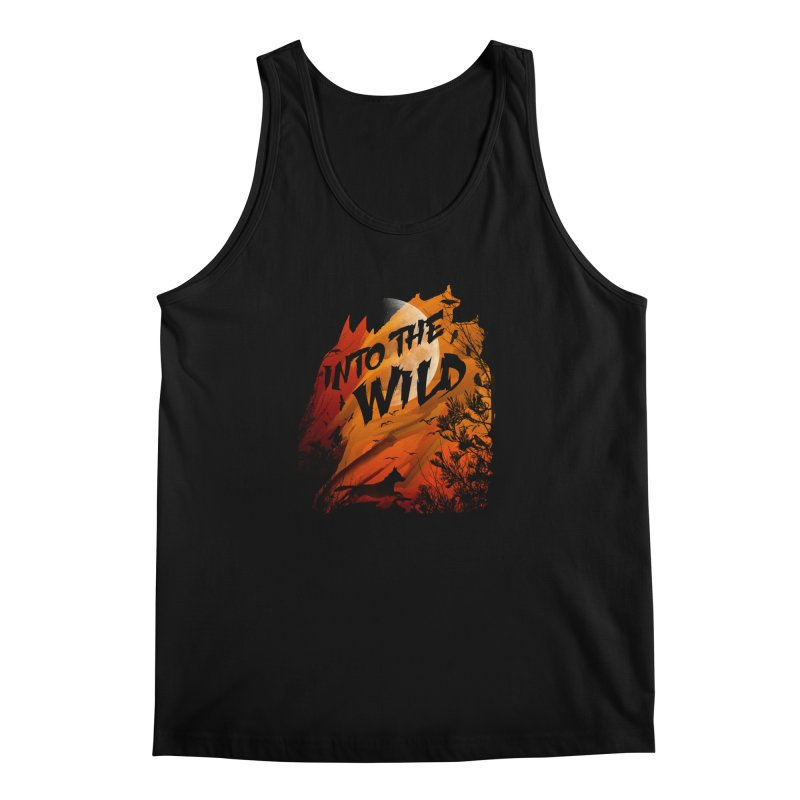 Into The Wild Men's Regular Tank by AGIMATNIINGKONG's Artist Shop