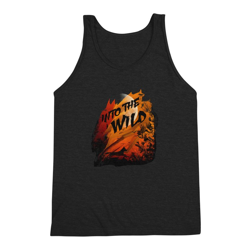 Into The Wild Men's Triblend Tank by AGIMATNIINGKONG's Artist Shop