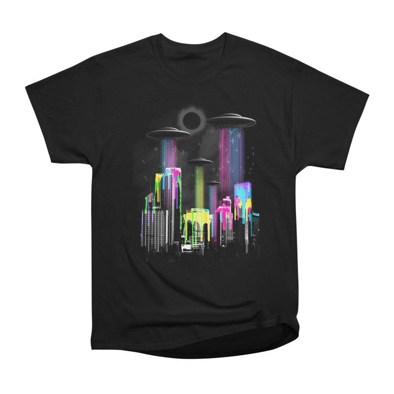 COLOR INVASION Men's Heavyweight T-Shirt by AGIMATNIINGKONG's Artist Shop