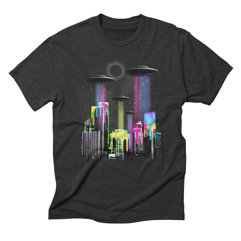 COLOR INVASION Men's Triblend T-Shirt by AGIMATNIINGKONG's Artist Shop