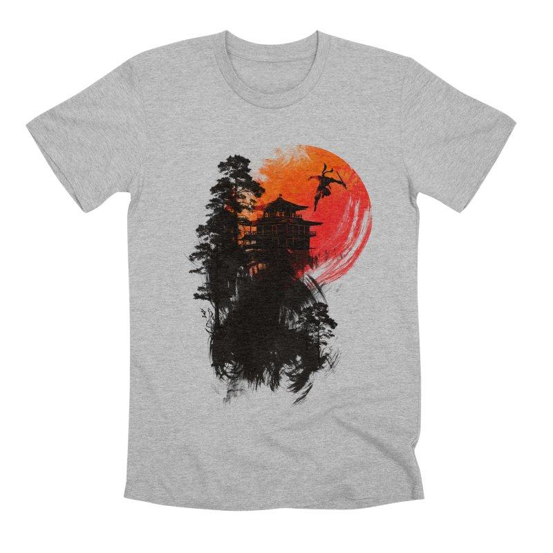 THE GREAT ESCAPE Men's Premium T-Shirt by AGIMATNIINGKONG's Artist Shop