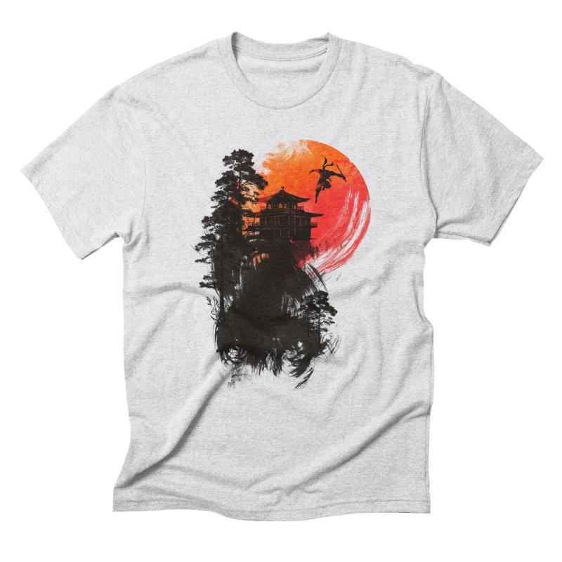 THE GREAT ESCAPE Men's Triblend T-Shirt by AGIMATNIINGKONG's Artist Shop