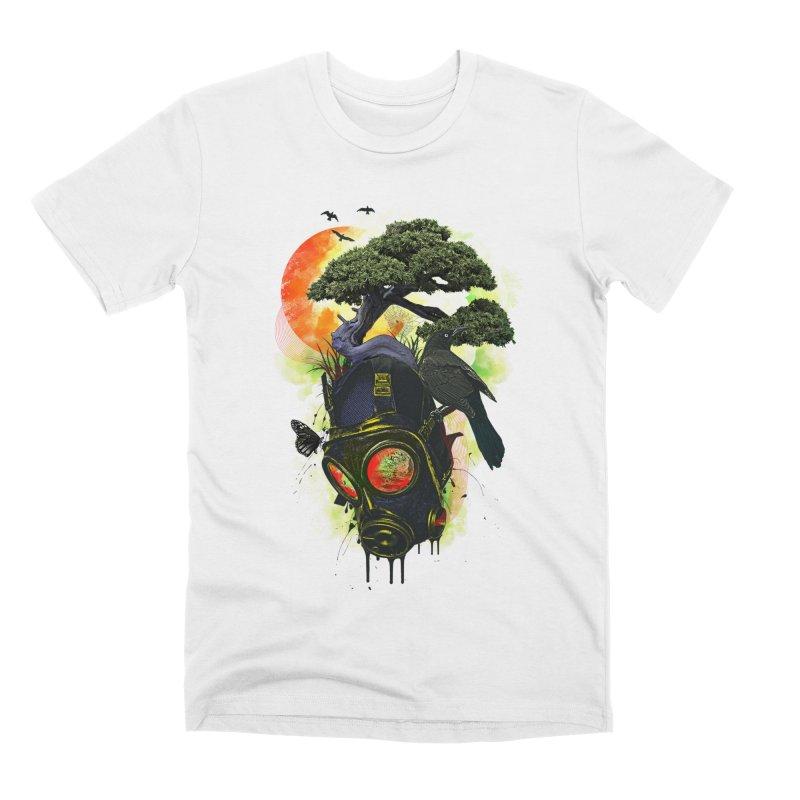 BREATHE Men's Premium T-Shirt by AGIMATNIINGKONG's Artist Shop